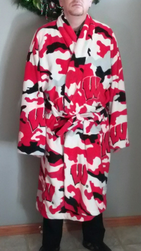 Men's themed/sport robe - NFL, NHL, College, basketball, or any other theme!!!