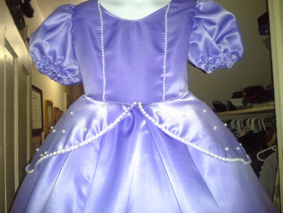 Sophia the First inspired Costume - Authentic looking and custom made for your measurements