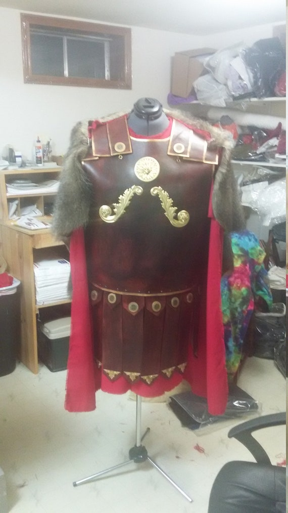 Roman Legion Battle Garb - real leather