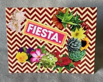 Fiesta Greeting Card - Birthday, Party, Fiesta, Special Occasion, Quinceñera, Wedding, Celebration