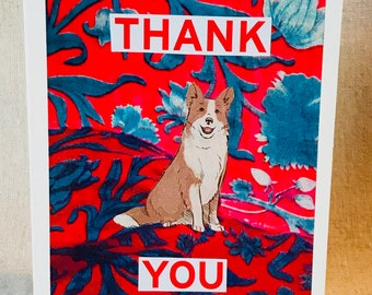 Thank You Pup Greeting Card