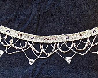 Vintage Southwest Native American beaded belt