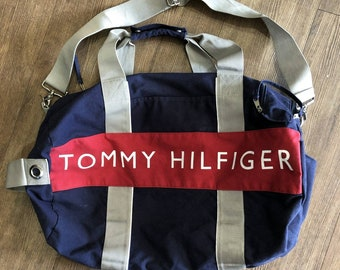 524fb417be Vintage Tommy Hilfiger duffel bag  overnight