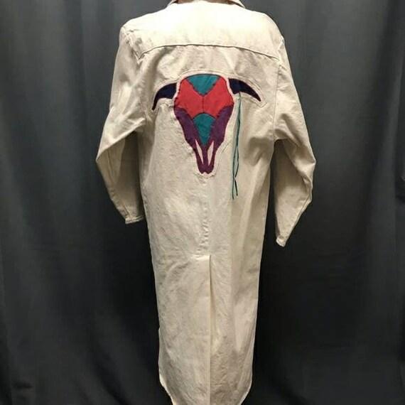 Vintage Denim Duster by pioneer wear