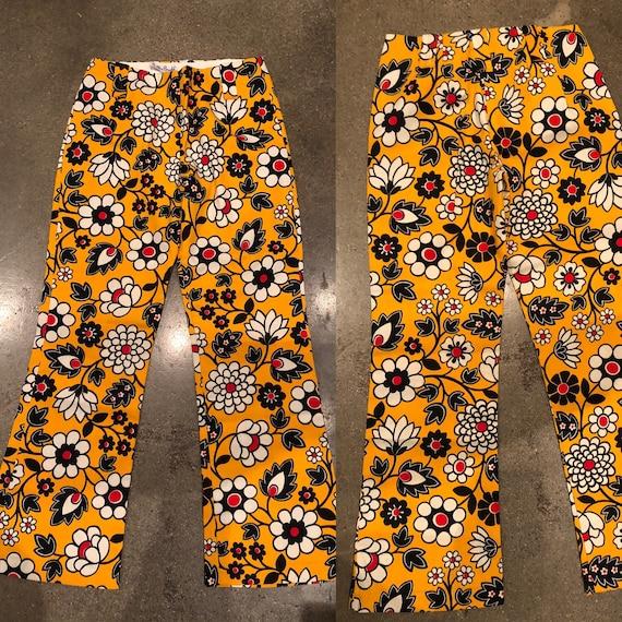 Daisys Vintage 60s Mod floral print  70s retro pa… - image 3