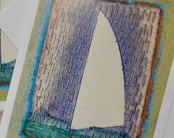 Sail in the Rain notecards