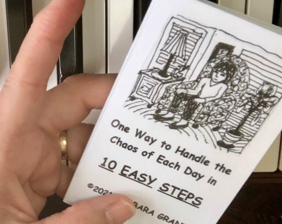 How to handle stress, tiny book, 10 steps