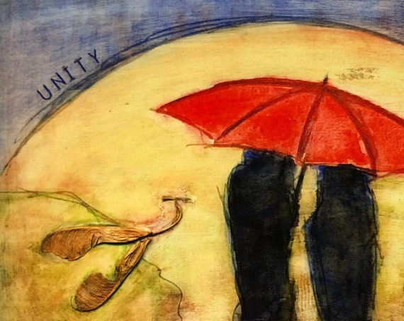 Umbrella, print