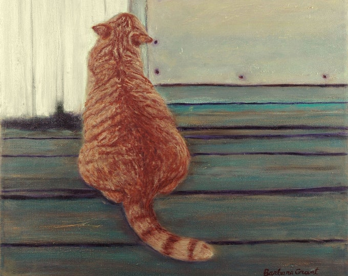 "Notecards of ""Ginger Cat (Susan's Farm)"""