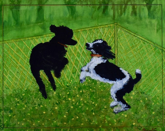 Dandelions and Dogs