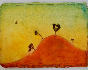 """Notecards of """"Windy Hill"""" painting"""