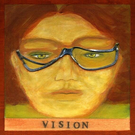V is for VISION, print