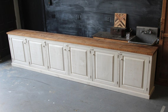 Items Similar To Rustic French Farmhouse Country Sideboard