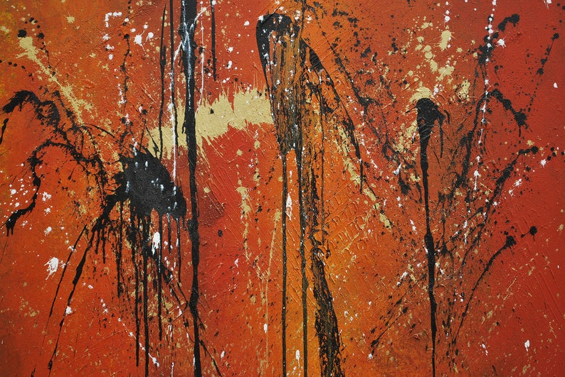 Original Abstract Art / Painting on Canvas 60 x 48 image 0