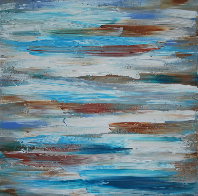 Original Abstract Art / Painting on Canvas 36 x 36 image 0