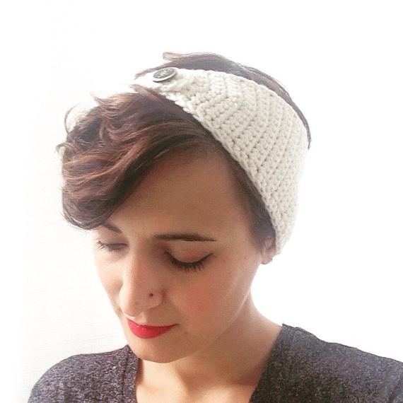 The Vintage Jeweled Headwrap Crochet Crochet headwrap retro  bfc8f5979aa