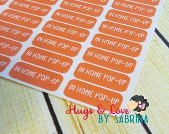In Home Pop Up planner sticker