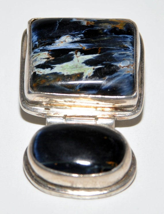 Sterling Custom Pendant - Gemstones