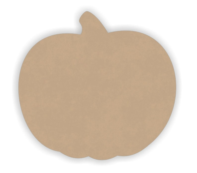 Mdf Wooden Pumpkin Cutout Shapes Unfinished Ready To Paint Sizes 6 To 12 14 Thick Mdf Wood