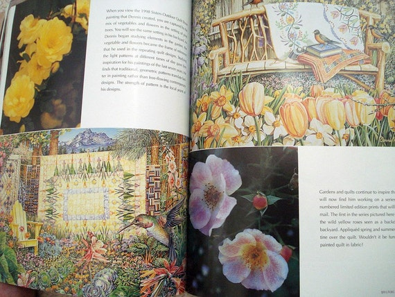 Through The Garden Gate Quilters And Their Gardens Etsy