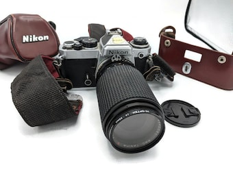 Nikon FE Camera with . Carrying Case.