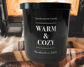 Wood Fire Candles