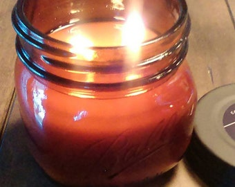 FIREWOOD - Fireplace in a Jar Candle  16 oz - Limited Edition
