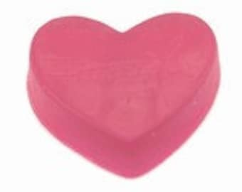 100 Heart Soaps - Choose Color - wedding and baby favors