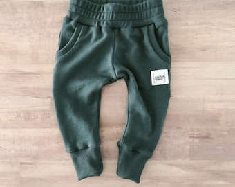 French terry joggers, choose your color
