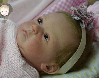Reborn Baby Girl Doll Amy - Malea by Gudrun Legler