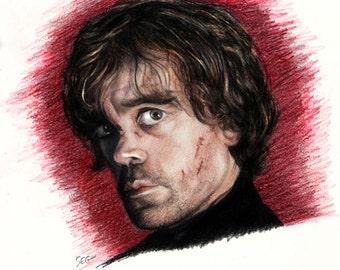 Tyrion Lannister print