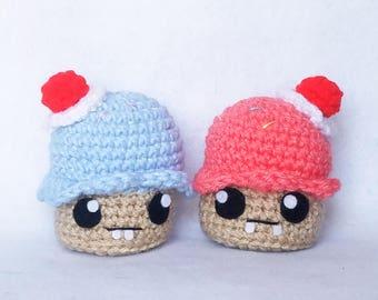 Sloppy Cupcakes Amigurumi Quirky Collection Amigurumi