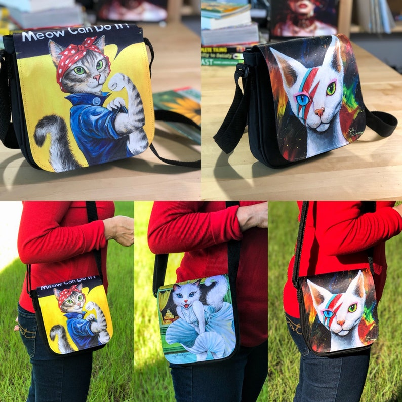 NEW Purses by Angel Egle Wierenga KittyWorks EWArtwork image 0