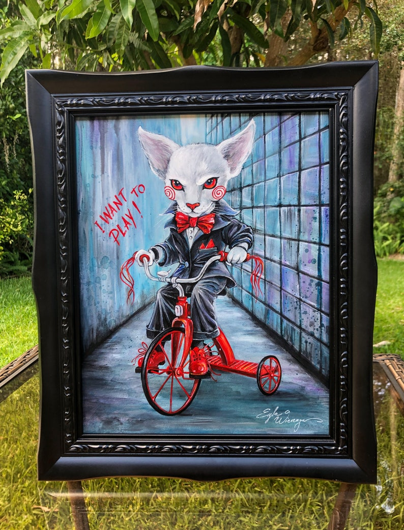 ORIGINAL PAINTING JigClaw Billy   Egle Wierenga image 0