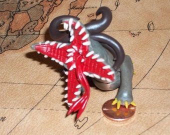 TERA Rising - Orisk Monster - Baby BAM - Polymer Clay Figurine - Custom - OOAK - Cool!!