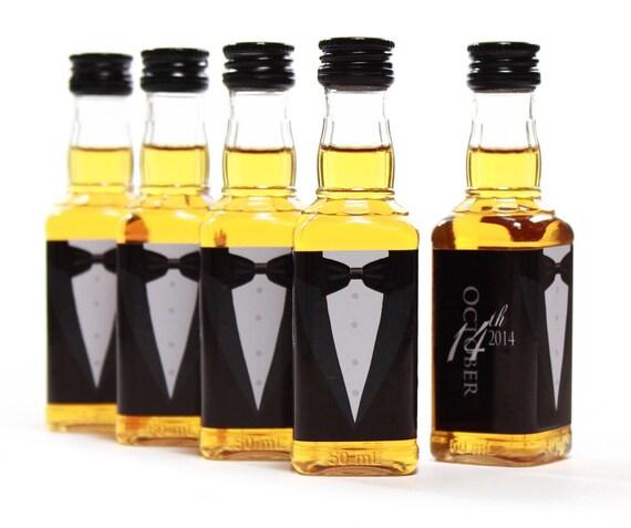 Jack Daniels Custom Mini Bottle Labels Wedding Favors Gifts | Etsy