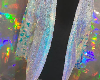 Boho chic jacket Mesh plus Sequin Jacket  sequin kimono tinsel jacket  Confetti Jacket \u2022 More colors available!