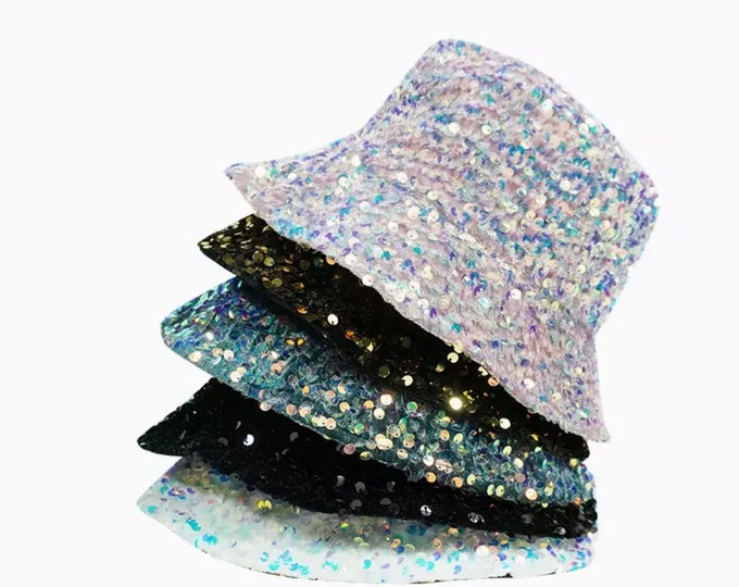 Featured listing image: Sequin Bucket hat