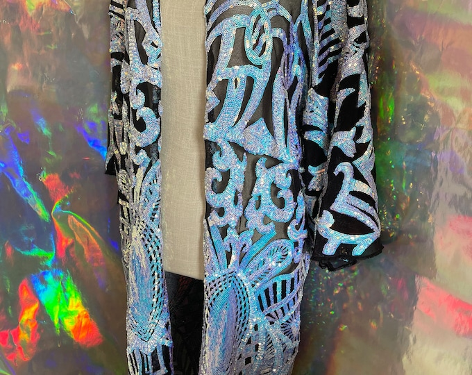 Featured listing image: Iridescent Boho Vibe Robe