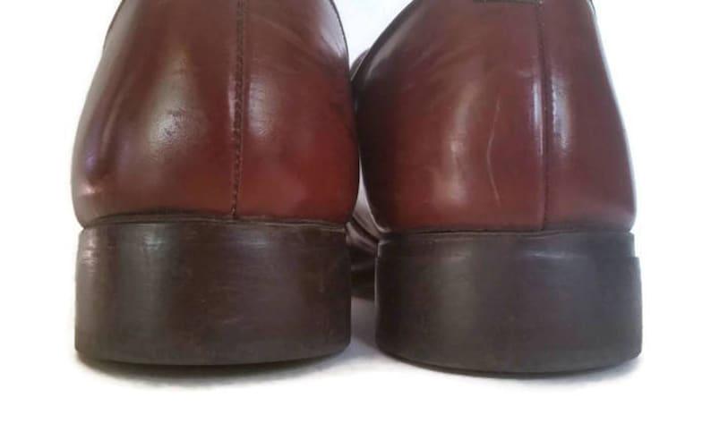 Jarman, braun Leder Quaste Mokassin Loafer Schuhe, Herren Größe 9,5 D, Obermaterial aus Leder, Herren Leder Slip auf Loafer