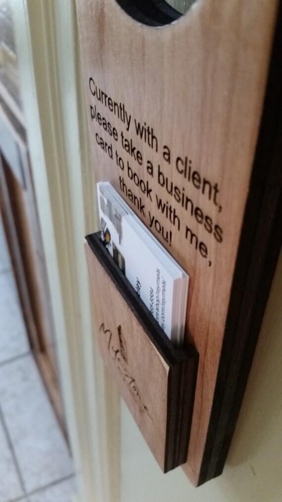 Visitenkarten Türbügel Ratgeber Salon Anwalt Arzt Lehrer Minister Pfarrer Personalisierte Visitenkartenhalter Holztürbügel