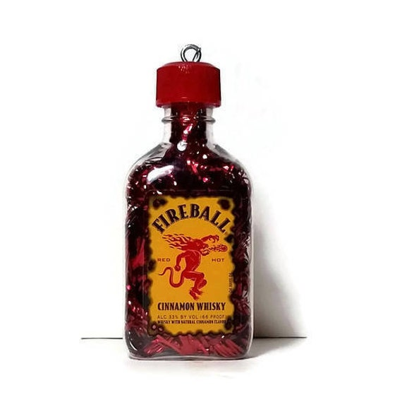 Fireball Whisky Fireball Whisky Christmas Ornament Ready to | Etsy