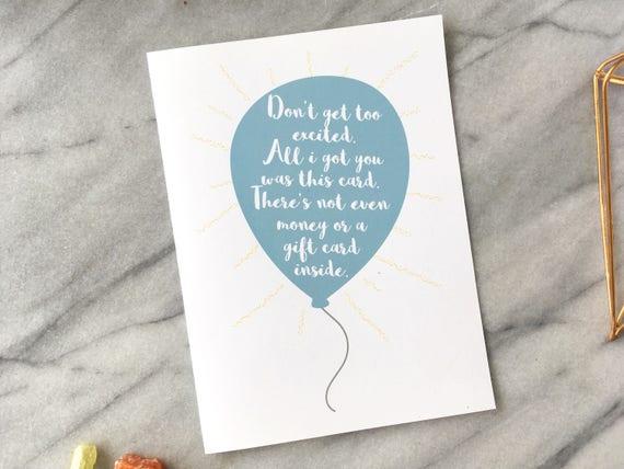 Funny Birthday Card Naughty Birthday Card Adult Birthday Card Etsy
