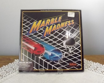 Marble Madness (Amiga, 1986) SEALED Vintage Game, Commodore Amiga Computer Game