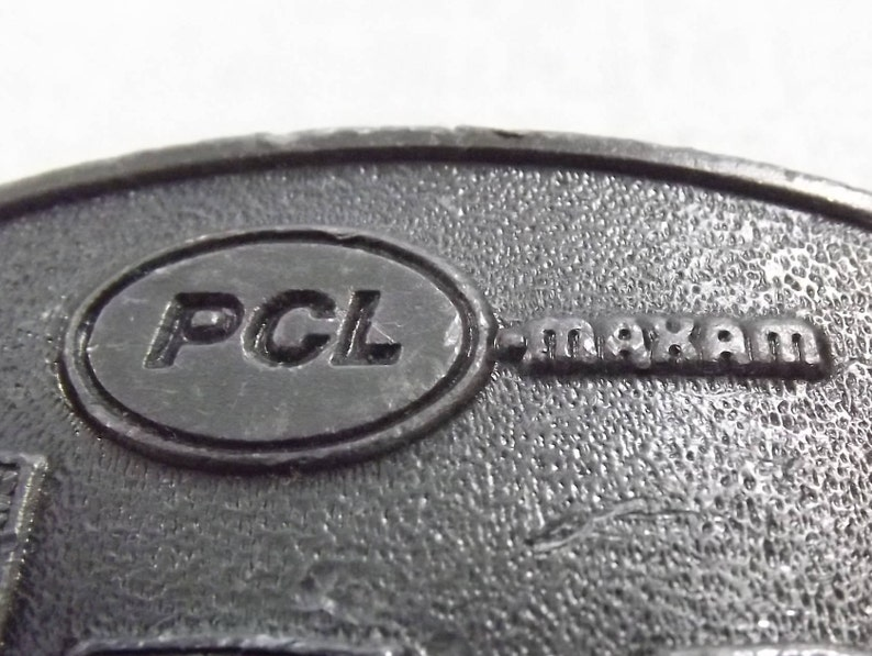 Vintage PCL Belt Buckle, Advertisement, Construction Industry Safety Award,  Serious Collector Must-Have