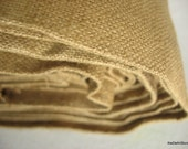 Homespun Pure Silk Light Home Furnishing Fabric in Beige Brown Color Sold by Yard