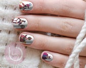 Items Similar To Disney Villain Nail Decal Nail Design Nails