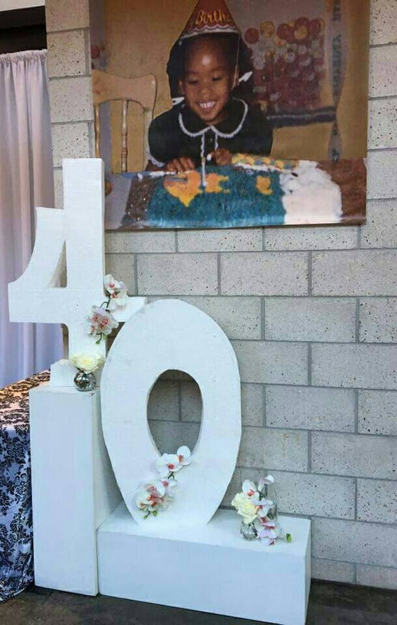 wide with a 2 inch thickness tall by 24 inches 2 ft Large milestone first birthday foam ONE letter or number signs 36 inches 3 ft