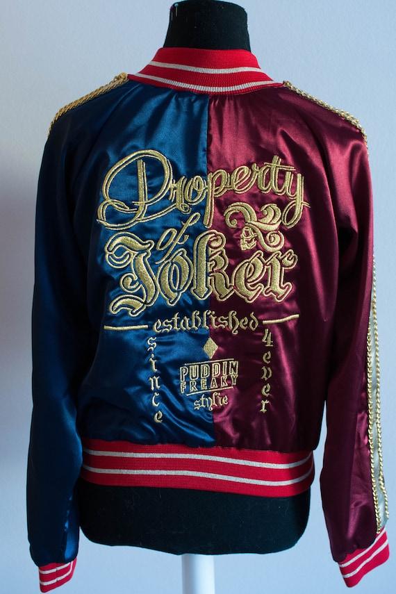 Harley Quinn escuadrón de suicidio bordado personalizado hecho | Etsy