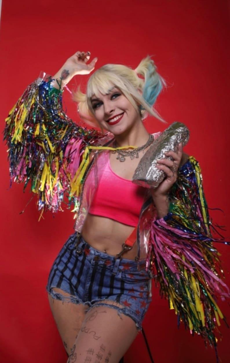 c9c3246221ce Harley Quinn Birds of Prey costume cosplay custom made